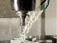 Q8 Baroni XHS metal cutting fluid in action