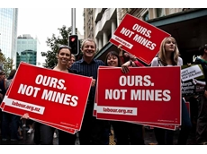 QRC points to link between anti-coal protests and QLD EDO
