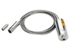 Radiation fibre optic IR pyrometer