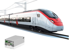 Rail battery charger form factor shrinks by 80 percent