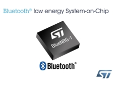 STMicroelectronics introduces new Bluetooth Low Energy Single-Chip Solution
