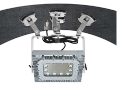 Larson Electronics EPL-AMB-150LED-50 low profile adjustable magnetic mount LED light fixture