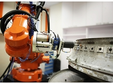 The A*STAR and NUS joint laboratories will focus on the development of industrial robotics, such as this robotic polishing system. (Copyright : 2013 A*STAR Singapore Institute of Manufacturing Technology)