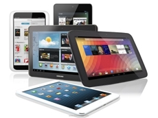 ​THE TABLET market is officially mature, as worldwide tablet shipments in 2014 declined 2.2 percent compared with 2013.