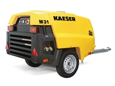 The Mobilair 31 portable compressor from Kaeser