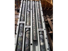 The drilling contractor has drilled twelve consecutive holes with minimal downhole issues and excellent core recovery