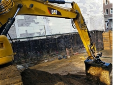 Tilt buckets for Caterpillar excavators