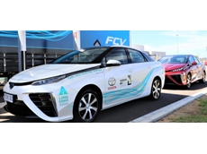 Toyota Australia partners with Hobson's Bay City Council to undertake a trial of zero CO2 emitting hydrogen-electric vehicles. Source: Toyota.com.au