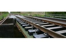 Trafikverket has successfully installed plastic sleepers of Lankhorst in test track Sweden