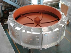 Yoshikawa circle feeder designed for industrial waste
