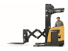 United Forklift's CAT photograph NR20-23 lift trucks set industry benchmarks for lift speeds