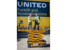 Upwards and onward as United celebrates its landmark Haulotte high safety and efficiency work platform