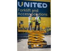 Upwards and onward as United celebrates its landmark Haulotte high safety and efficiency work platform
