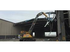 Volvo launches new high reach demolition machine