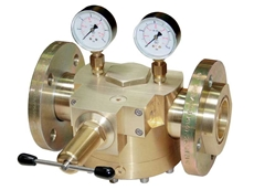 WITT dome-loaded pressure regulator (brass)