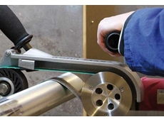 Pipe-Max belt grinder
