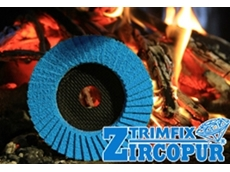 TRIMFIX Zircopur abrasive discs from 111 Abrasives Australia with natural fibre backing plate