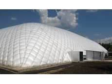 Eco-friendly, sustainable and economic inflatable buildings from 1300 Inflate