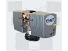 The FARO LS880 laser scanner