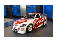 The Toyota Aurion racing car
