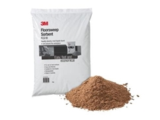 3M's new Floorsweep is an easy, fast and economical biodegradable sorbent