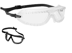 3M's Lexa Gogglegear safety goggles available in splash and dust models