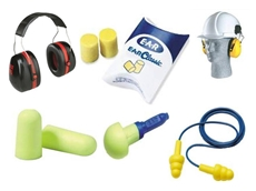 Reusable earplugs, Push-in foam plugs, Disposable earplugs