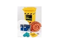 The large 180L capacity oil and petroleum spill response kit from 3M