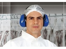 Ear muffs for the food processing industry from 3M Safety Products