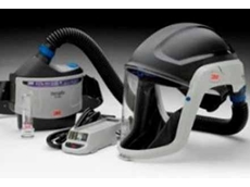 The all new, lightweight 3M Versaflo TR-300 Powered Air Respirator