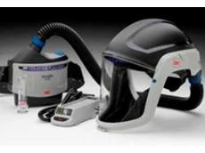 The all new, lightweight 3M Versaflo TR-300 Powered Air Respirator
