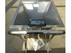 Customised portable weigh hopper for coffee blending