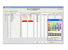 Multi-Weigher weighing software