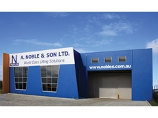 The Derrimut store will stock and service the full range of A Noble & Son's lifting and rigging equipment