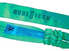 Nobl-O-Tech Round slings with protected tag