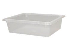 Clear Crates Range is ideal for space saving storage