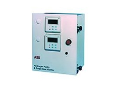ABB Australia's AK100 hydrogen purity and purge gas monitors