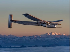 The plane will begin a historic round-the-world journey powered only by energy from the sun