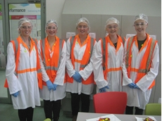 NAWO Girls Experience Industry Day at Mondelez