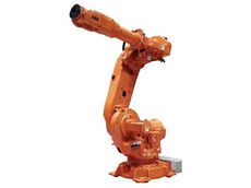 An IRB 6640 six axis robot