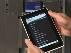 Ekip Connect application to program the Ekip Touch trip units from a tablet, smartphone or portable PC