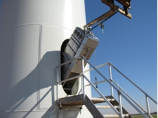 Super-slim switchgear for wind turbines