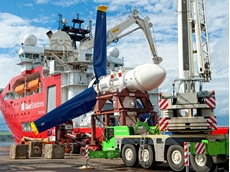 The MeyGen tidal stream project will harvest the tidal resources of the strait connecting the Atlantic Ocean to the North Sea
