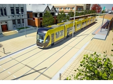 An artist's impression of a Gold Coast Light Rail Station (image courtesy: GoldLinQ)