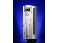 The ACS550 ac drive.