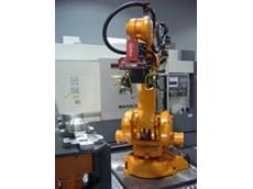 The robotic bin picking system