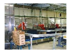 Robots used for packaging applications