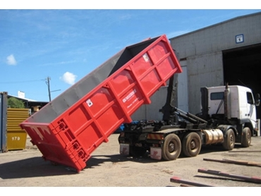 Heavily reinforced industrial Steel Bins for demanding applications