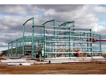 Economical prefabricated steel structures