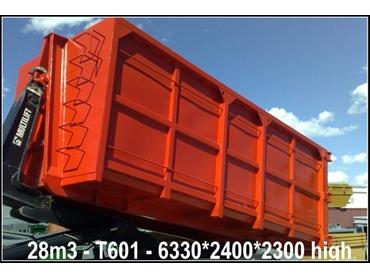 Industrial waste bins, scrap metal bins and recycling bins